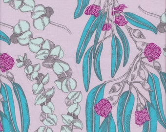 Free Spirit Fabrics Anna Maria Horner Pretty Potent Eucalyptus in Jewel - Half Yard