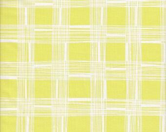 Free Spirit Fabrics Erin McMorris Astrid Pica in Chartreuse - Half Yard