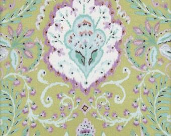 Free Spirit Fabrics Dena Designs Tangier Ikat Vine in Aqua - Half Yard