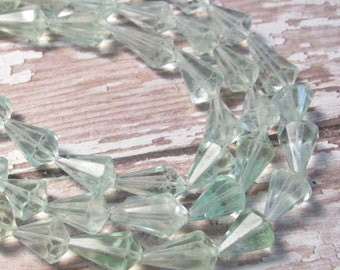 Natural Aquamarine Beads, Fancy Teardrop Shape For Matched Pairs, Blue Gemstone 8mm 10mm 12mm 14mm Gemstone Beads