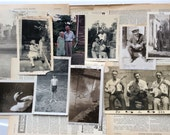 Photograph Bundle Mixed Sepia and black and white photos