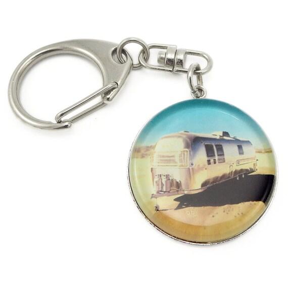 Airstream Trailer keychain