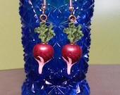 BIG Short Time SALE Luna Lovegood Inspired Radish Earrings