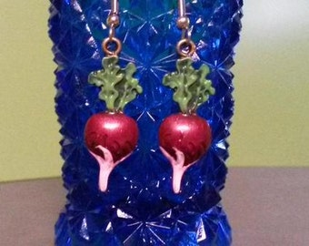 Short Time SALE Luna Lovegood Inspired Radish Earrings