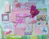 Snail Mail Spring, Snail Mail Summer Kit, Junk Journal Kit, Smash Journal Kit, Summer Snail Mail Kit, Spring Snail Mail Kit, 228 + PC