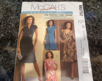 McCall's 5752 knit dress pattern