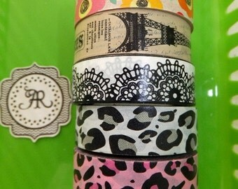 Planner Stickers NEW, Washi Sticker, Washi Tape PER FOOT Sale, Decorative Tape, Sticker Tape, Adhesive Tape, Great on Erin Condren Planner