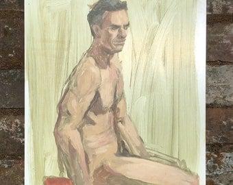 Figure study 1 - original painting