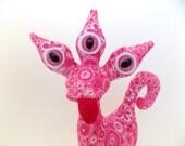 Cute Alien Toys for Girls, Cute Monster Plush, Stuffed Animal, Alien Plush by Adopt an Alien named Giselle