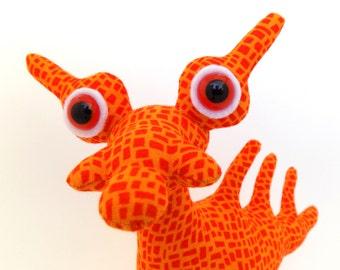 Alien Toy, Alien Plush, Dragon Toy, Dragon Plush, Monster Toy for Boys by Adopt an Alien named Zurg