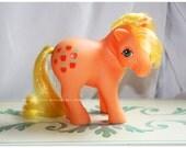 Vintage G1 MLP My Little Pony Earth Ponies Apple Jack #2