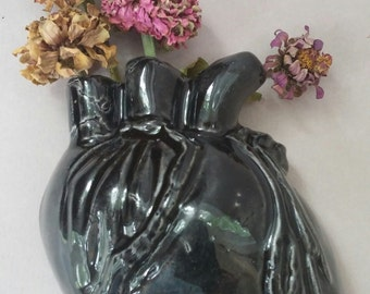 Anatomical Heart Vase