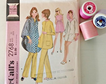Vintage Sewing Pattern | 1971 McCall's Maternity Separates | Size 10