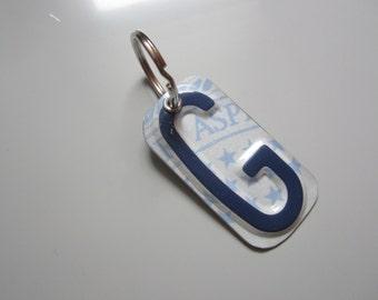 G License Tag Keychain