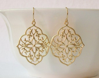Moroccan Floral  Earrings