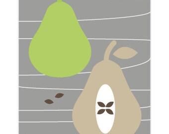 STUDIO SALE - Pears Greetings Note Card