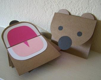 brop! bear card set