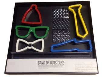 Band of Outsiders Hipster Cookie Cutter set  New In Box