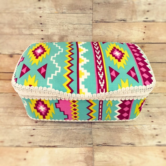 Popular Items For Nursery Decor On Etsy Baby Shower: Items Similar To Aztec Baby Wipe Case Bohemian Baby Decor