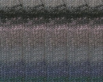 Noro Silk Garden SOCK Yarn - Color 436 - LOT A is made up with blends of Moonstones