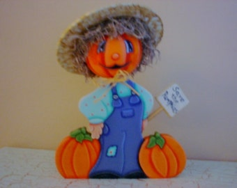 Halloween Pumpkin Decoration Halloween Pumpkin Man Tabletop Figure
