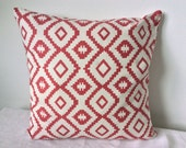 Aztec Cushion Cover, Pillow Cover 16x16 inch or 40x40cm