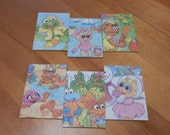 Up cycled Note Pads Party Favors Disney Muppets
