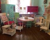 Custom designed kids playroom package play room furniture