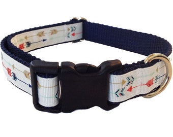"3/4"" Arrow Dog Collar, Martingale, Leash or Harness"