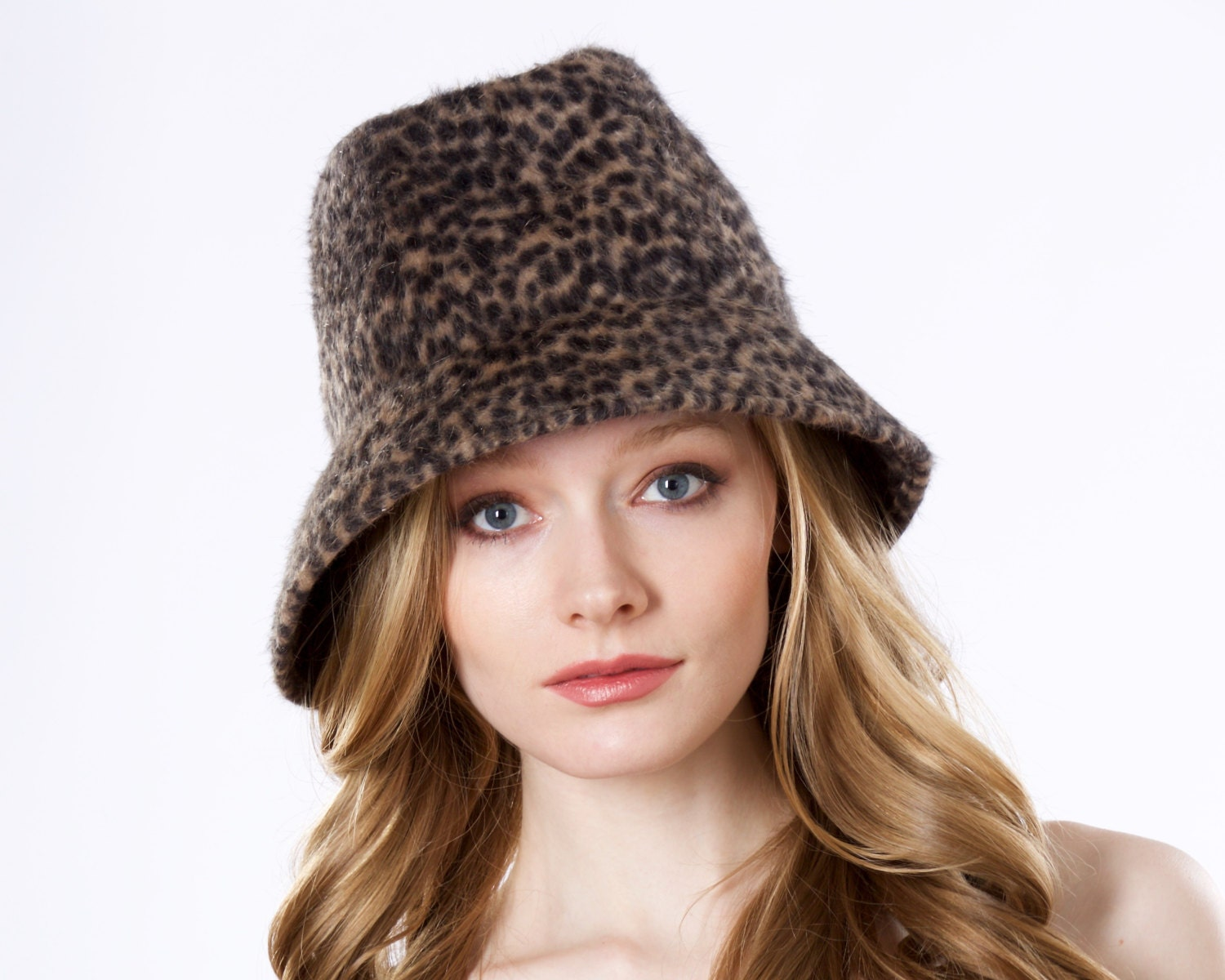 fedora hat animal pattern fall fashion by katarinahats
