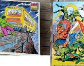 Fantastic Four and Incredible Hulk 100 Piece Jigsaw Puzzles