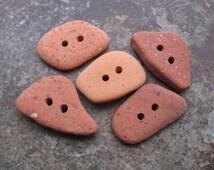 Beach Brick BUTTONS Stone Buttons