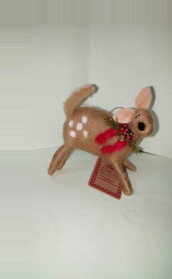 Fawn Wool Ornament