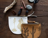Cactus Pouch - Leather