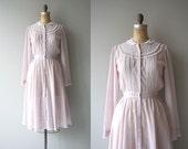 Gunne Sax dress | vintage 1970s prairie dress | 70s cotton shirt dress