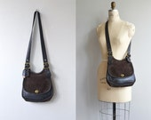 Bonnie Cashin era Coach bag | vintage Coach Berkeley Legacy saddle bag | leather and suede 70s purse