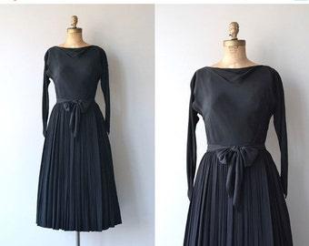 25% OFF.... Claire McCardell dress | vintage 1950s dress | black 50s dress