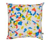 Radium Random Pop Screen-Printed cushion