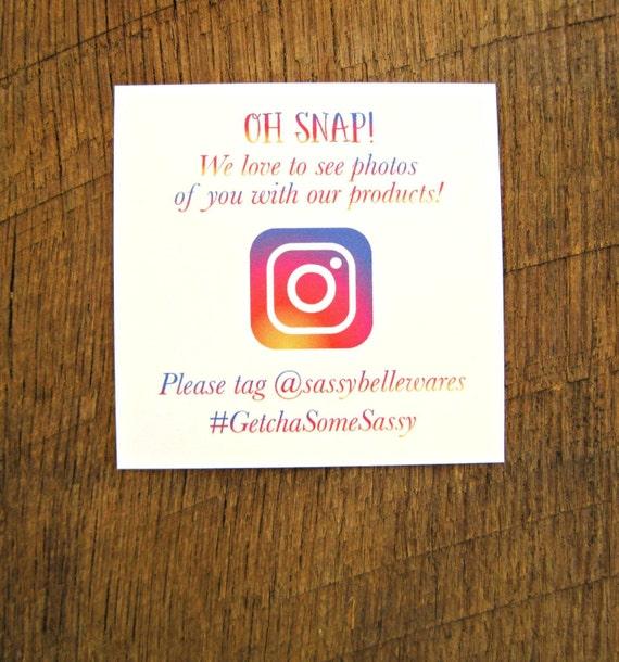 social media cards instagram cards printed social media cards