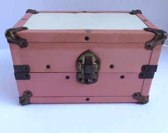 Vintage Child's Doll Trunk