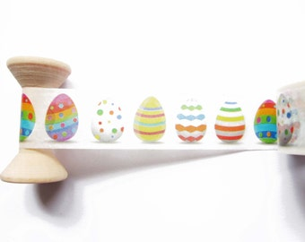 Easter Eggs Washi Tape / Masking Tape / Deco Tape - 20mm wide x 5m long