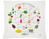 2016 BuyLocal Calendar Tea Towel