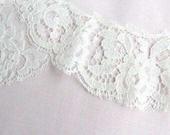 Short Veil- Fingertip Length Mantilla Veil in Ivory- Style: Rosita- Made to order