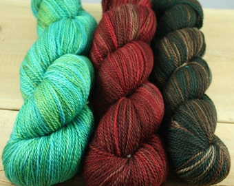"Pillow Talk ""Trio"" - MCN Light Fingering Yarn 3 Pack (#5)"