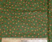 ACORN FABRIC! By The Half Yard - For Quilting and Doll Clothes / Fall - Harvest