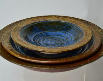 Three Nesting Bowls Set