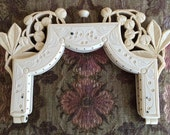 1920's Antique French Ivory Colored Celluloid Purse Frame