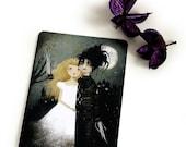 30% Off Halloween Sale - Edward Scissorhands - Postcard