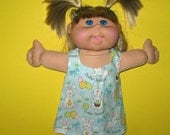 """Cabbage Patch Kids Doll Clothes  Easter Bunny Spring Jumper Set 14"""" Doll Adoptimals I"""