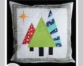 Trees at Night #226 Paper Piecing Quilt Pattern
